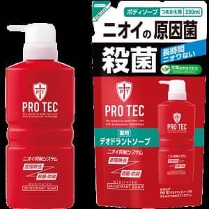 PRO TEC 薬用デオドラントソープ