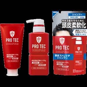 PRO TEC 頭皮ストレッチ シャンプー