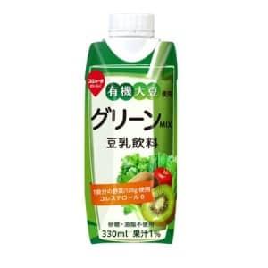 スジャータ 有機大豆使用グリーンMIX 豆乳飲料