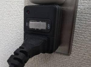 切り替え電源タップ