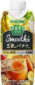 カゴメ 野菜生活100 スムージー 豆乳バナナミックス